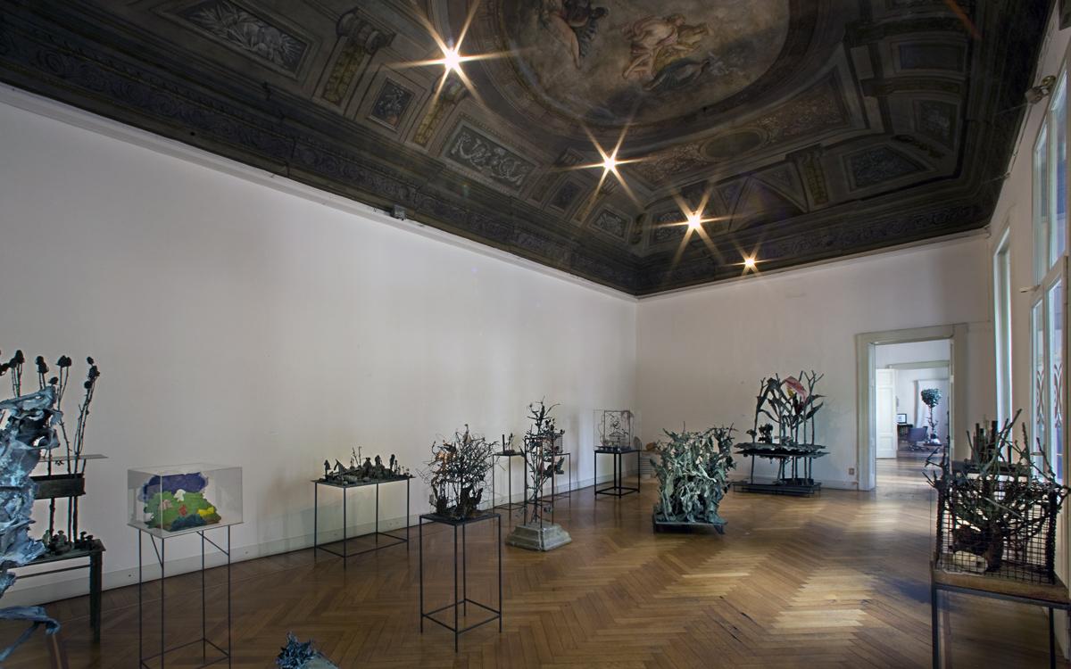 galleria milano sala principale mostra cavaliere