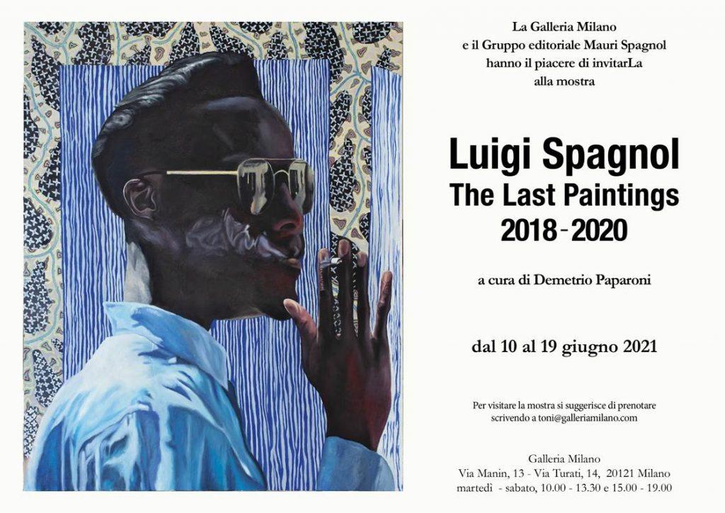 Luigi Spagnol in mostra alla Galleria Milano